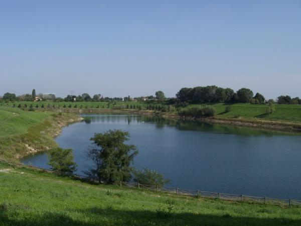 Il lago di Parco Increa